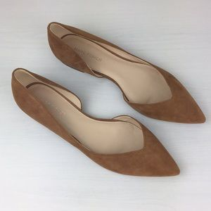Marc Fisher - Sunny D'Orsay Leather Flats